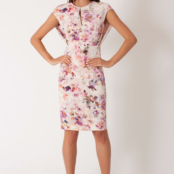 Black Halo Yoomi Floral Dress - Size 8 - New With Tags