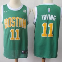 Boston Celtics Kyrie Irving 2018/19 Swingman Jersey – Earned Edition