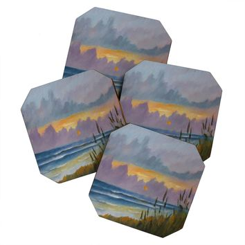 Rosie Brown Morning Has Broken Coaster Set