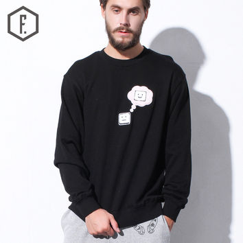 Couple Winter Men's Fashion Lovely Cotton Pullover Hoodies [8822209283]