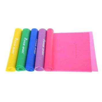 Elastic Training Bands In 5 Colors