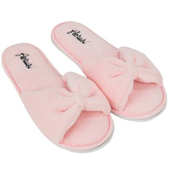Pink Fashion Women's Girl's Lady Home Cozy Slide Slipper indoor Shoes