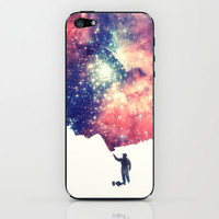 Painting the universe iPhone & iPod Skin by Badbugs_art