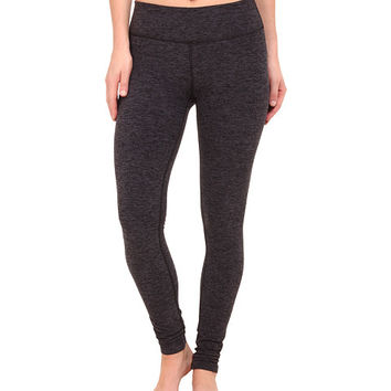 Beyond Yoga Spacedye Long Essential Leggings Black/Steel Spacedye - Zappos.com Free Shipping BOTH Ways
