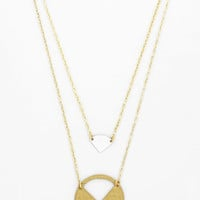 Mata Traders Minimal Cut to the Trace Necklace