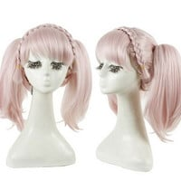 pink lolita wig lolita cosplay wig lolita wig ponytails anime cosplay wig hair halloween party princess hair