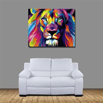 Paint By Number™  DIY Oil Painting Animals