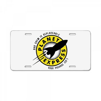 planet express License Plate