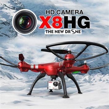 Syma X8HG With 1080P 8MP Camera High Hold Mode 2.4G 4CH 6Axis RC Quadcopter RTF Syma X8G Upgrade