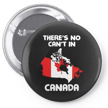 There Is No Cant In Canada Pin-back button