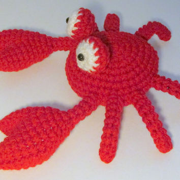 Amigurumi Crab PDF Crochet Pattern INSTANT DOWNLOAD