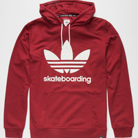 Adidas Adv Mens Hoodie Burgundy  In Sizes