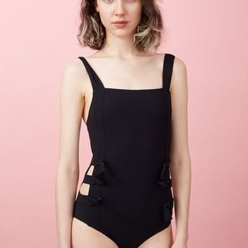 Chloe Sevigny for Opening Ceremony Chandler Bow Harness Swimsuit - WOMEN - Swimwear - Chloe Sevigny for Opening Ceremony