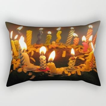 Birthday Cake! Rectangular Pillow by SOKAartcanada