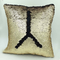 Mermaid Gold Matte / Black Pillows - More Options