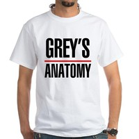 Greys Anatomy White T-Shirt