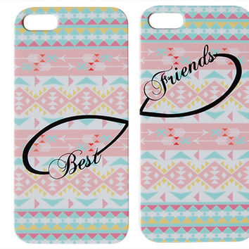 Pastel Aztec Best Friends Phone Case