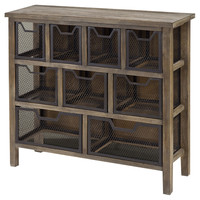 Banjara Industrial Storage Chest, Chest of Drawers