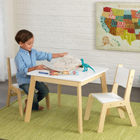 KidKraft Modern Table & 2 Chair Set - 27025