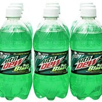 Mountain Dew Baja Blast 16 Fl Oz (Pack of 15)