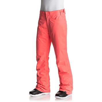 Roxy Backyard Women's Snow Pants - Neon Grapefruit