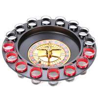 Present Time Toys Drinking Roulette (With 16 Shot Glasses)