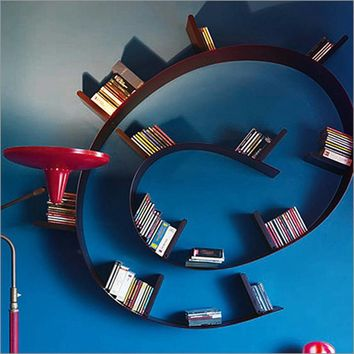 Kartell Bookworm | Bookcase | Plastic | Storage | Living Room Furniture Ultra Modern