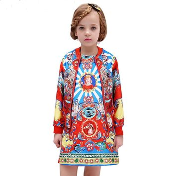 Girls Boutique Clothing 2016 Kids Clothes Designer Girls Outfits Autumn  Vetement Fille Kids Tracksuit Girls Clothes 3f1541897dc6