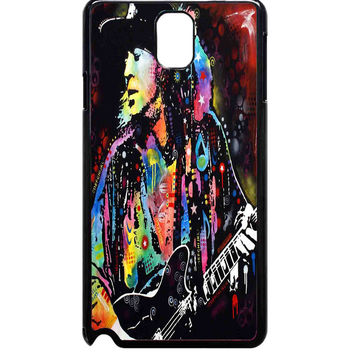 Colorful Stevie Ray Vaughan For Samsung Galaxy Note 3 Case ***