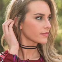 Power Of Persuasion Choker, Black