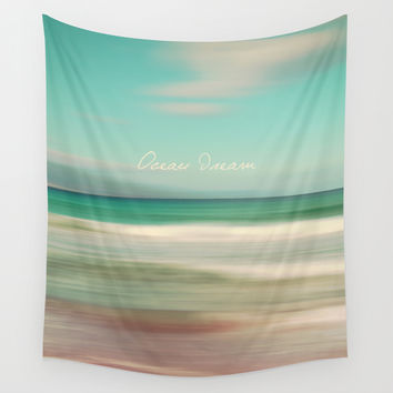 Ocean Dream IV Wall Tapestry by Pia Schneider [atelier COLOUR-VISION]