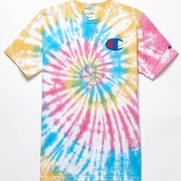 Champion x PacSun Tie-Dye T-Shirt at PacSun.com