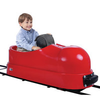 The Hand Crank Locomotive Shoe - Hammacher Schlemmer
