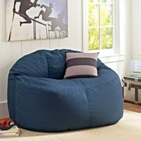 Navy Twill Cloud Couch