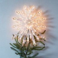 Light-Up Star Tree Topper