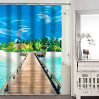 beach shower curtains adorabel bathroom heppy shower curtains.