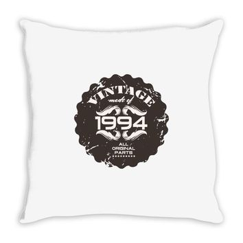 vintage made of 1994 all original parts Throw Pillow