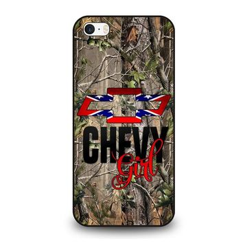 CAMO BROWNING REBEL CHEVY GIRL iPhone SE Case Cover