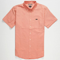 Rvca That'll Do Mens Shirt Heather Red  In Sizes