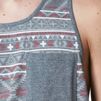 On The Byas Clan Tribal Pocket Tank Top at PacSun.com