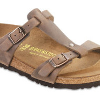 Larisa  Tobacco Oiled Leather Sandals | Birkenstock USA Official Site