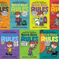 ROSCOE RILEY RULES by Katherine Applegate Kid's Paperback Collection Books 1-7