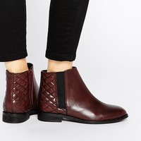 ASOS ALASKA Wide Fit Leather Ankle Boots