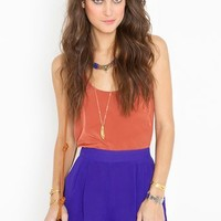 Petal Shorts - Royal Blue in Clothes Bottoms Shorts at Nasty Gal