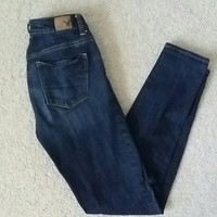 High rise, skinny, American Eagle Outfitter Jeans