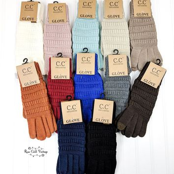 CC Touchscreen Gloves - Rust only