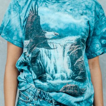 T-shirt - Eagle Tye Dye - T-shirts & Tanks - Women - Modekungen