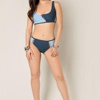 All Laced Up Two Piece Bandage Swimsuit