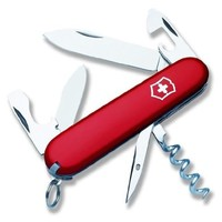 Victorinox Swiss Army 53131 Tourist Pocket Knife, Red, Fixed-Blade Knives - Amazon Canada