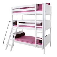 Taylor Panel Medium Triple Bunk Bed